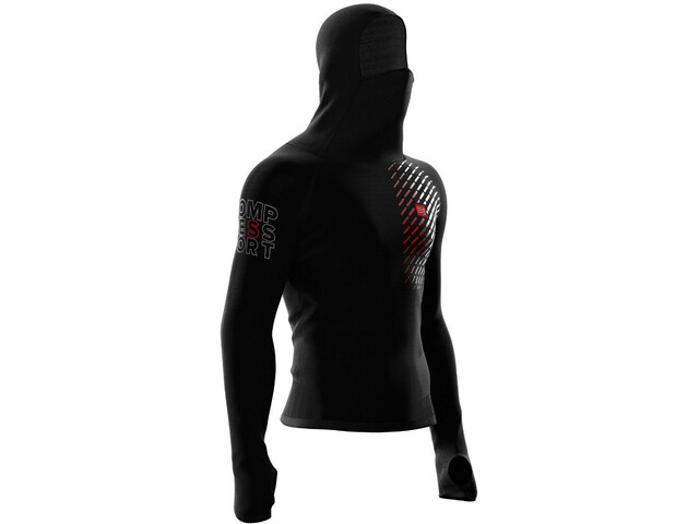 Compressport 3D Ultralight Racing Thermo Hoodie black